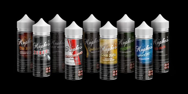 Kapka's Flava Liquids Allstars